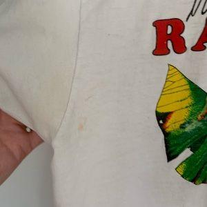 Vintage Shirts - Vintage rainforest t-shirt thin distressed cotton